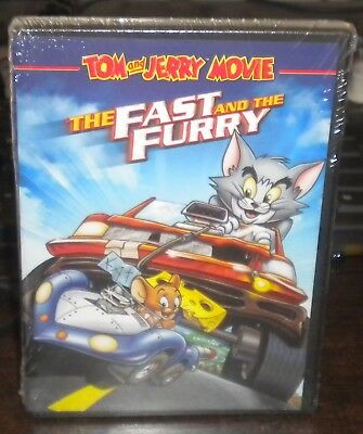 New Sealed Tom and Jerry: The Fast and the Furry (DVD, 2005)a