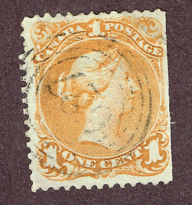 Canada Large Queen 23 Rare 627 4-Ring Son Cancel   (Ocr3
