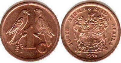 South Africa 1993-96 1 Cent Uncirculated (KM132,158)