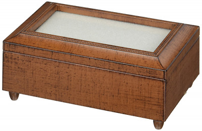 Carson Home Accents Woodgrain Music Box Playing Everything is Beautiful, Small