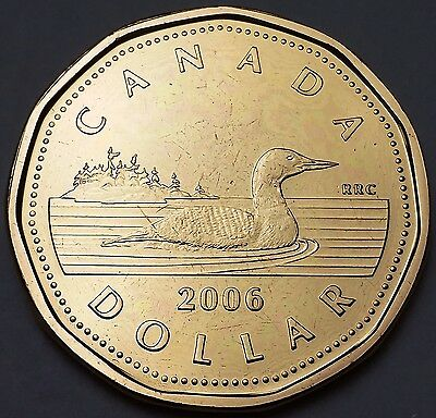 2006 Canada $1 Proof Loonie - Canadian Loon ***Proof-Like*** Great Detail
