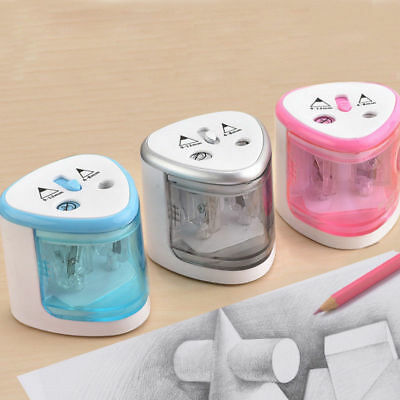 1 X Automatic Electric Touch Switch Pencil Sharpener Home Office School Desktop