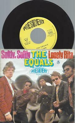 "7""   The Equals ‎– Softly, Softly"