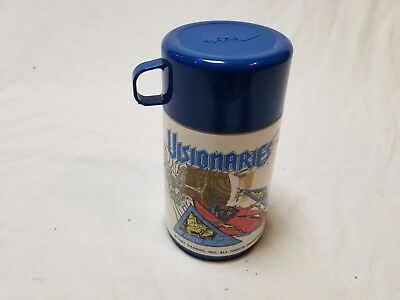 Vintage 1987 Hasbro VISIONARIES Knights of the Magical Light Thermos