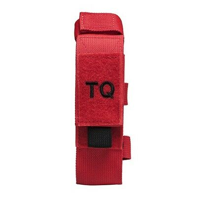 NcStar CVTQ2990R Tourniquet & Tactical Shear Pouch MOLLE/Belt Compatible Red