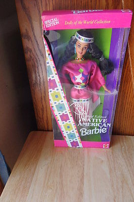 Native American Barbie Dolls of the World Collection NIB Special Edition