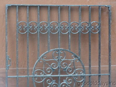 Wrought Iron, Salvaged Antique Gate from Chicago's Lincoln Park