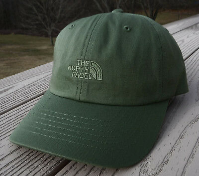 "NWT THE NORTH FACE ""The Norm"" Adjustable Adult Hat-OSFM Ret@$22 OLIVE GREEN"