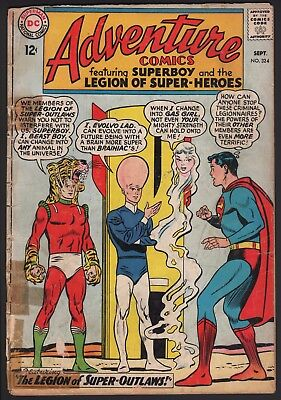 Adventure Comics #324 1964 Dc Silver Age Reader!