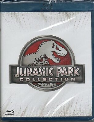 Jurassic Park collection - 4 film - blu-ray -  nuovo