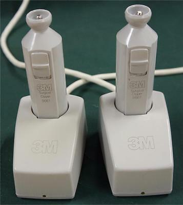 ONE 3M Model 9661 Surgical Clipper w/ 3M 9662 Charger !!  J   SEVERAL AVAILABLE