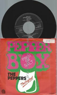 "7""   The Peppers ‎– Pepper Box"