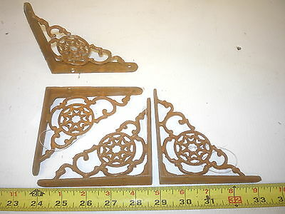 2 Small Old Antique Style Shelf Bracket  , Hall Tree Base Craft