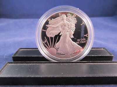 ONE 2018-W Silver American Eagle Dollar PROOF West Point Mint ONE TROY OUNCE