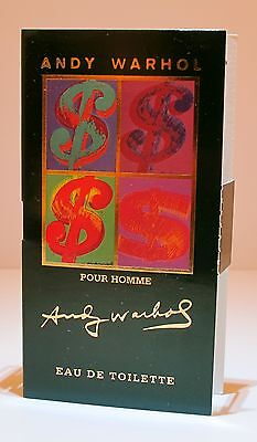 26 x ANDY WARHOL POUR HOMME EDT's FOR MEN IN HANDY POCKET SIZED 2ml SPRAYS*