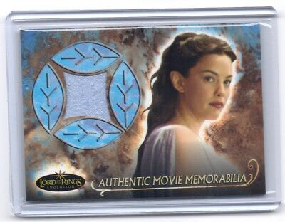 LOTR Lord Of The Rings Evolution Arwen's Nightgown Genuine material costume card