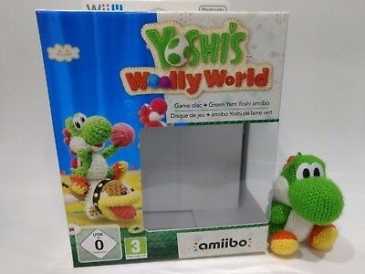 Yoshi's Wooley World box  * No game disc * Yoshi yarn amiibo
