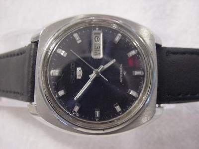 Vintage large antique Art Deco SEIKO AUTOMATIC mens watch  . NR