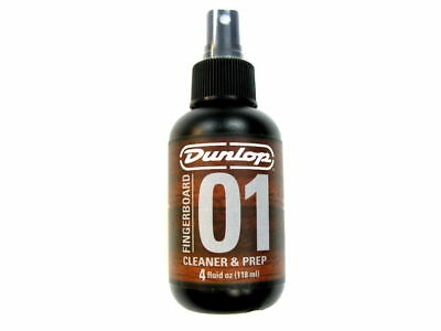 DUNLOP FINGERBOARD CLEANER & PREP Cleans Build-Up Restores Tone & Clarity