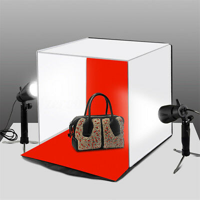 40cm Softbox Portable Photo Studio Box Photography 5 Backdrops Room Mini Tent