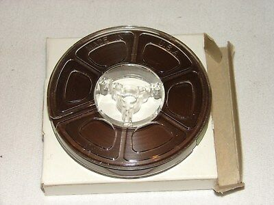 Vintage Lot Of 4 Blank Small Reel- To- Reel Tapes For A Recorder Nos