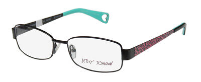 50b51696310 New Betsey Johnson Mischief Stunning Hip Eyeglass Frame glasses eyewear In  Style