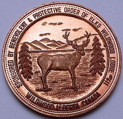 1985 Wildwood Alberta Good For $2 Trade Token Dollar, Canada ***Coin Week***