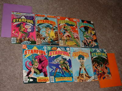 DC Lot Run 8 STARFIRE Swords & Science 1 2 3 4 5 6 7 8  VG to FN+ Free Shipping