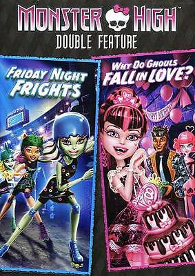 Monster High: Friday Night Frights/Why Do Ghouls Fall in Love? (DVD, 2013) NEW