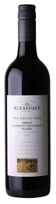 Bleasdale `The Broad-Side` Shiraz Cabernet Malbec 2015 (6 x 750mL), SA.