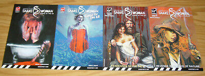Snake Woman: Curse of the 68 #1-4 VF/NM complete series virgin comics set 2 3
