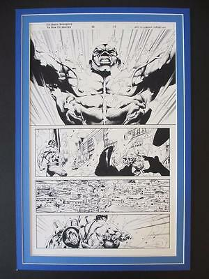 Ultimate Avengers VS. New Ultimates #2 - (Original Art) Page 15 by Jason Paz!!!