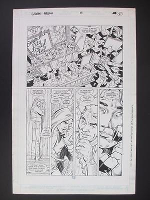Green Arrow #17 DC 1989 (Original Art) Page 18 by Dan Jurgens & Dick Giordano!!!