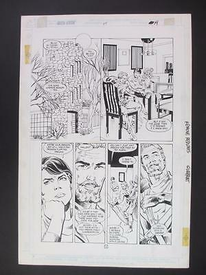 Green Arrow #14 DC 1989 (Original Art) Page 12 by Dan Jurgens & Dick Giordano!!!