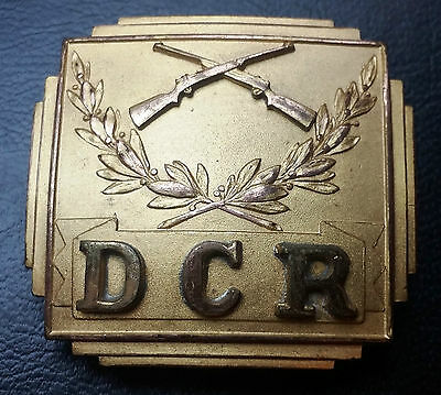 """Vintage Collectible """"Dcr"""" Belt Buckle - Made In U.s.a - Free Combined S/H"""