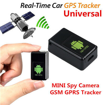 Portable Spy Camera GSM GPS Locator Tracker Listening Device Car Voice Activated
