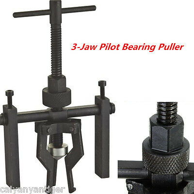 Car 3-Jaw Heavy Duty Pilot Bearing Puller Bushing Gear Extractor Removing Tool