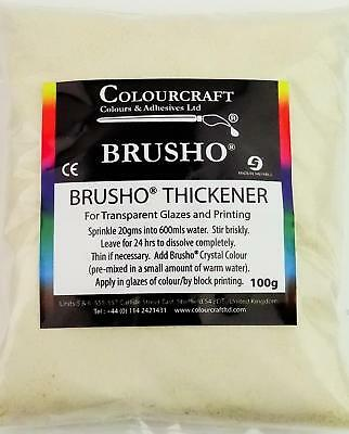 Colourcraft Brusho Crystal Colour Thickener 100g for Pigment Paint