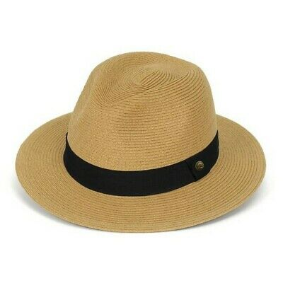 Sunday Afternoons HAVANA Hat - Size SMALL Fedora Style / Sun / Casual - TAN