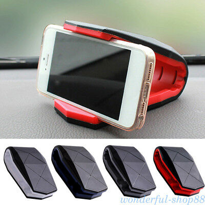 Car Dashboard Mobile Alligator Clip Bracket Holder Stand Anti-Slip Phone Acces