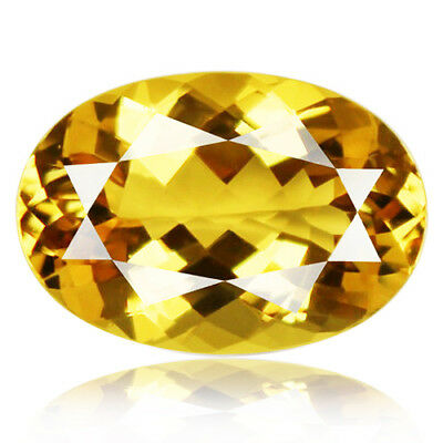 20.67ct Flawless 100% Natural earth mined extremely rare aaa golden yellow beryl