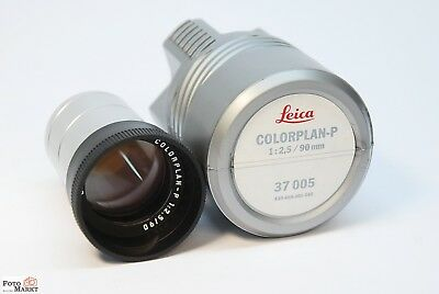 Leica Colorplan 1: 2,5/90mm Projection Lens 37005 42,5 mm tube diameter
