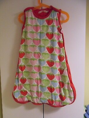 Beauty And The Bib Girls Grobag 0 - 6 Months Baby Sleeping Bag 2.5 Tog