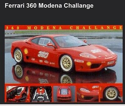 Ferrari 360 Modena Challenge Out of Print - Car Poster:>)
