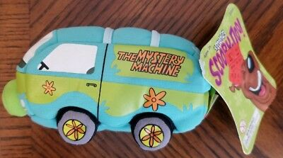 Scooby Doo Mystery Machine Cartoon Network Groovy Bean Bag Plush 2001 EXCELLENT