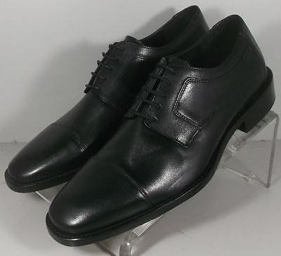 200705 FT50 Men's Shoes Size 8.5 M Black Leather Lace-Ups Johnston Murphy