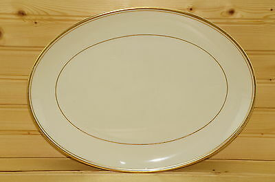 "Franciscan GOLD BAND Oval Serving Platter, 12 1/2"" x 9 1/2""  (box #2)"