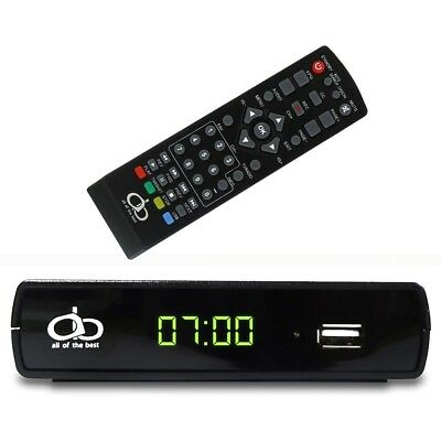AOB Digital TV Converter Box A19-106 Supports Full HD/USB With Remote Control...