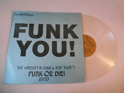 LP VA Funk You! - Funk Or Die (4 Song) METROVINYL colored