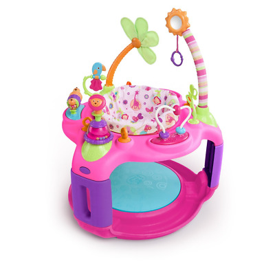 Bright Starts Sweet Safari Bounce-a-Round Activity Center Adjustable seat height